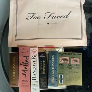 Too faced 5 Deluxe Bundle